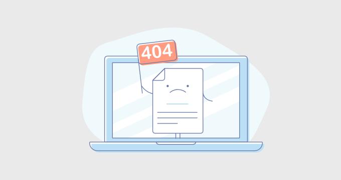 راهنمایی جامع در مورد صفحات خطای 404 در وردپرس